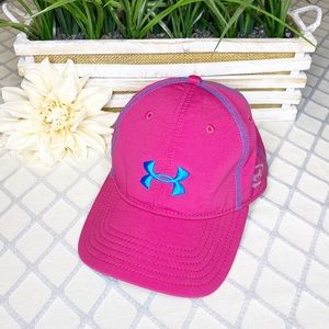 Under Armour Pink Quick Dry Baseball Running Hat